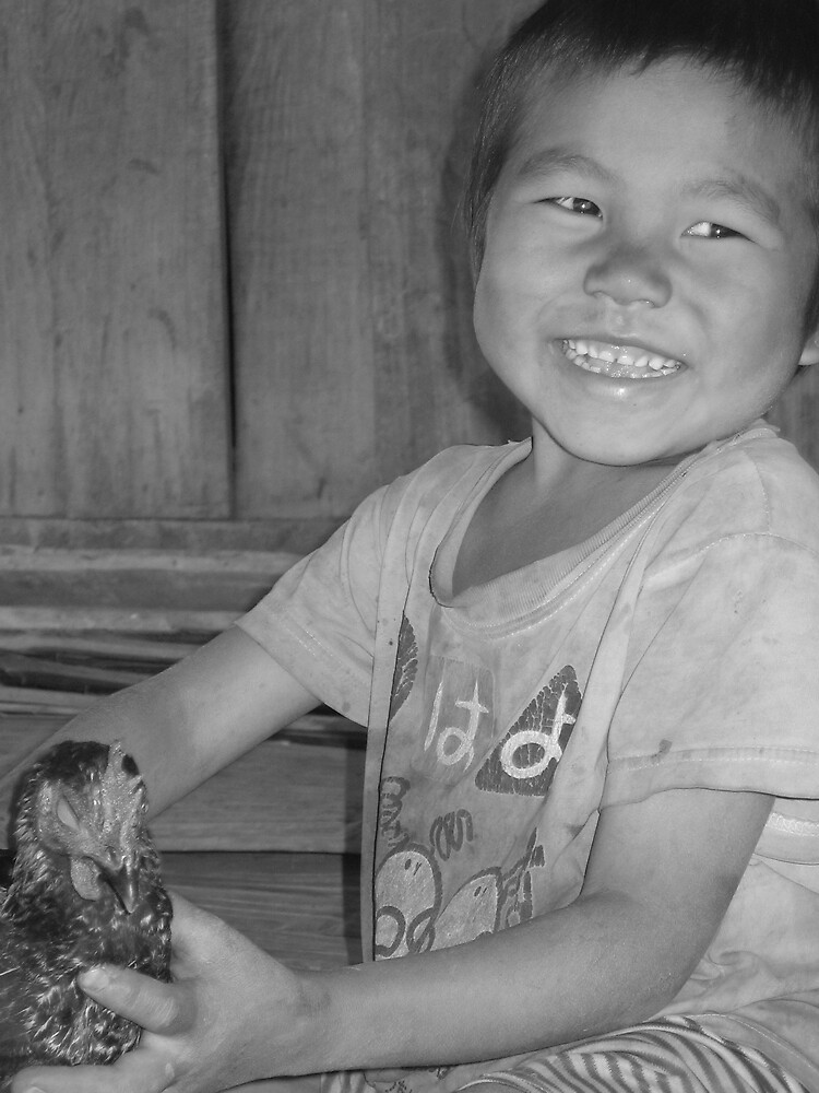 young hmong boy by melanie tschiderer