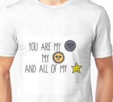 i dont even know Unisex T-Shirt