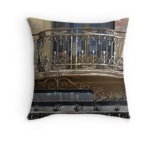 Balcony 1 Throw Pillow