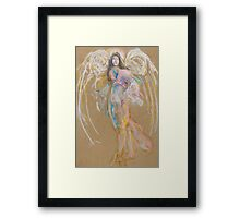 Pastel Angel Framed Print
