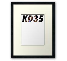 Kevin Durant - OKC - #35 Framed Print