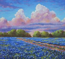 Rain For The Bluebonnets by David Paul