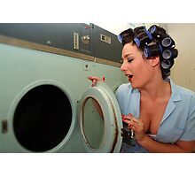 Retro Pin Up - Sparkly Kleen Photographic Print