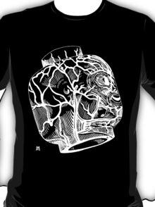 Veins of head (white) T-Shirt