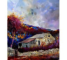 old house in the ardennes belgium Photographic Print
