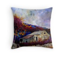 old house in the ardennes belgium Throw Pillow