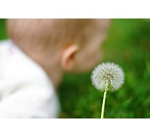baby bokeh ;-) Photographic Print