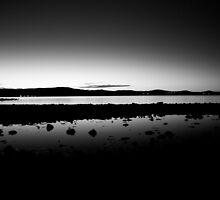 Stillness at dusk by Oliver King