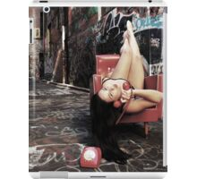 "Retro Pin Up, ""Wish you were here..."" iPad Case/Skin"