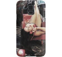 "Retro Pin Up, ""Wish you were here..."" Samsung Galaxy Case/Skin"