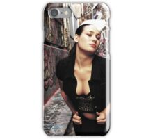 "Retro Pin Up, ""Dine In or Take Away"" iPhone Case/Skin"