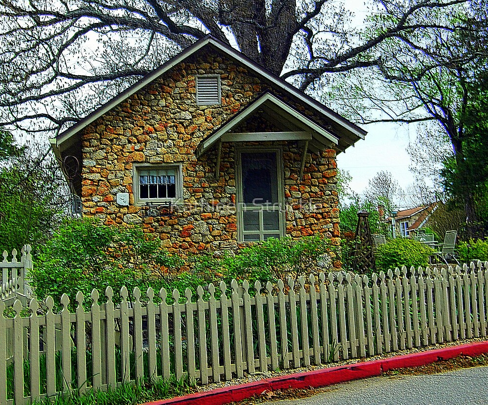 Little Brick Cottage by Kathleen Struckle
