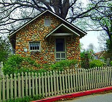 Little Brick Cottage by Kathleen Struckle