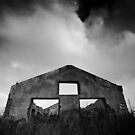 gloomy life of stand alone construction by Victor Bezrukov