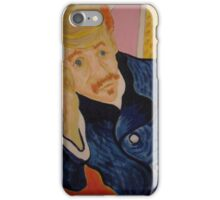 Dr Gachet  ( Vincent Van Gogh's doctor) iPhone Case/Skin