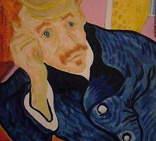 Dr Gachet  ( Vincent Van Gogh's doctor) by Richard  Tuvey