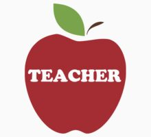 I'm a Teacher Red Apple by TheShirtYurt
