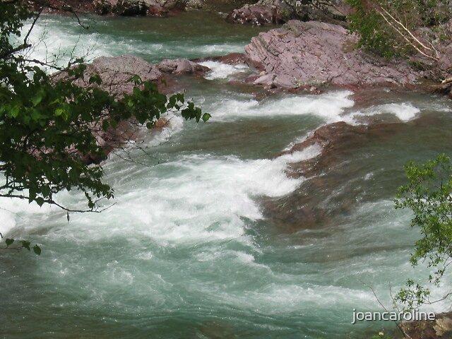 surging river by joancaroline