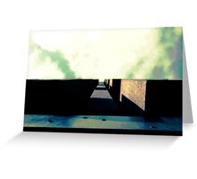 Rough wall Greeting Card