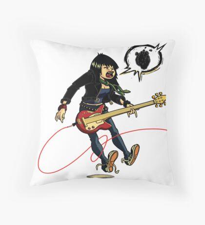 Joan Jett - The Valkyrie Throw Pillow