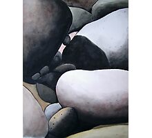 Tidal Rocks. Photographic Print