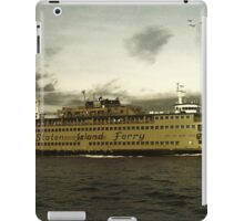 Staten Island Ferry iPad Case/Skin