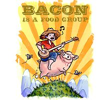 Bacon Is A Food Group... Photographic Print