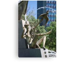 fountain Canvas Print