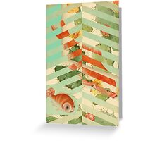 Pisces Fins Greeting Card