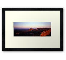 Summer Day Valley - Grampians NP - Victoria Framed Print