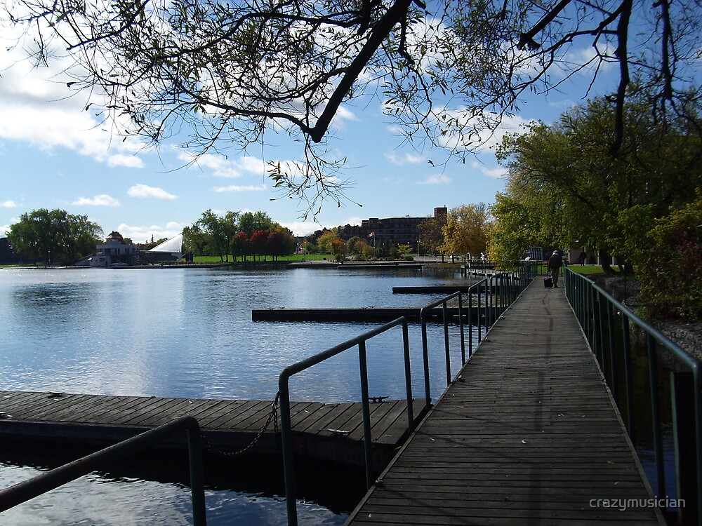 """Peterborough Harborfront in late fall"" (2) by crazymusician"