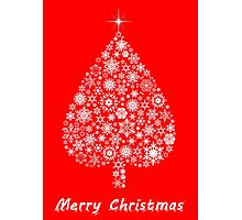 Marry Christmas tree Photographic Print