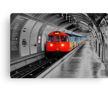 Lonely Underground Canvas Print