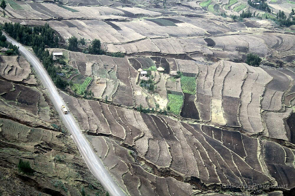 ethiopian highlands by Gideon du Preez Swart