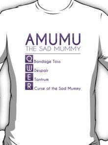 Champion Amumu Skill Set In Purple T-Shirt