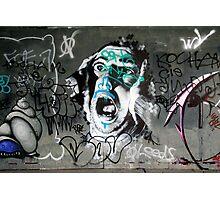 Scream Photographic Print