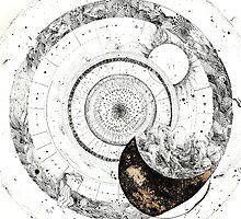 Fragmented Astrology Lapse  by carolina arevalo
