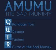 Champion Amumu Skill Set In Blue by SpiritRush