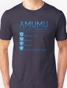 Champion Amumu Skill Set In Blue T-Shirt