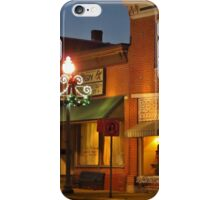 Christmas Downtown iPhone Case/Skin