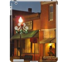 Christmas Downtown iPad Case/Skin
