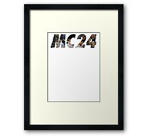 MC24 Framed Print