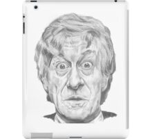 The Third Doctor iPad Case/Skin