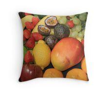 Delicious Fruit Throw Pillow
