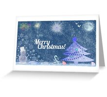 Marry Christmas Greeting Card