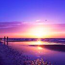 beautiful night on the beach by Enjoylife