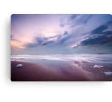 Ocean at night Metal Print