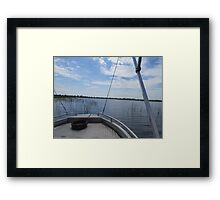 Boat Safari Framed Print