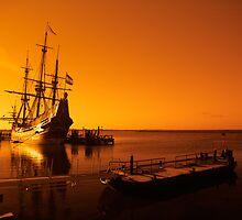 old ship by Enjoylife