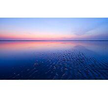 beautiful night at the beach Photographic Print